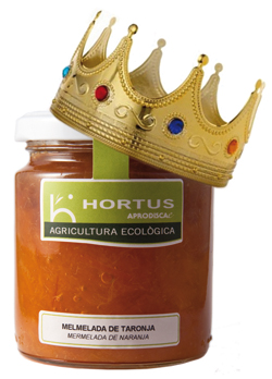 Melmelada de taronja amb corona
