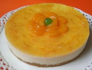 Pastis-de-formatge-amb-melmelada-de-taronja